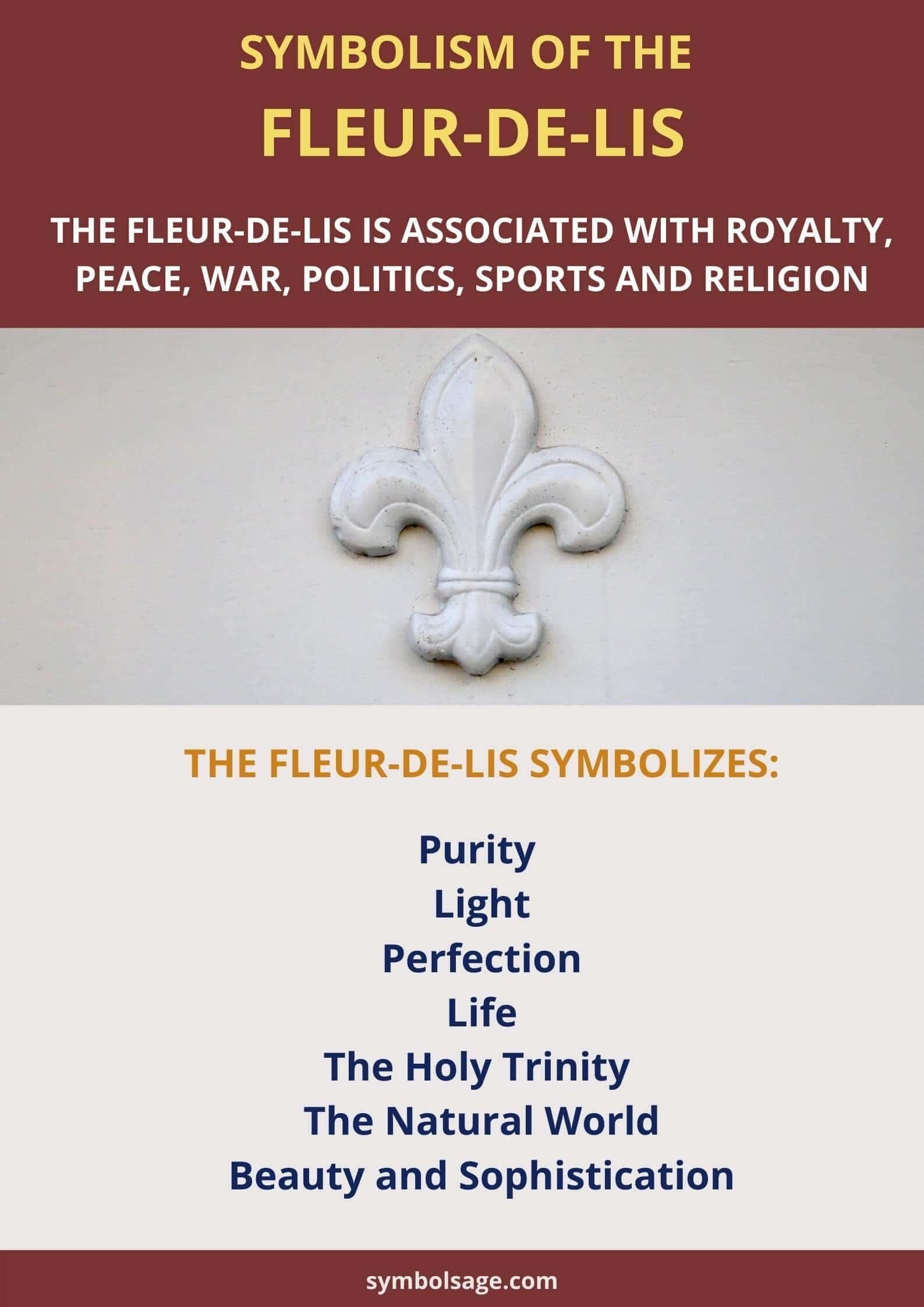 Spiritual meaning fleur de lis