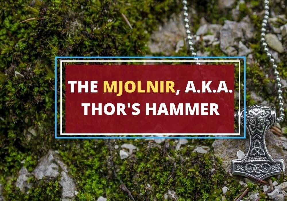 mjolnir thors hammer symbol