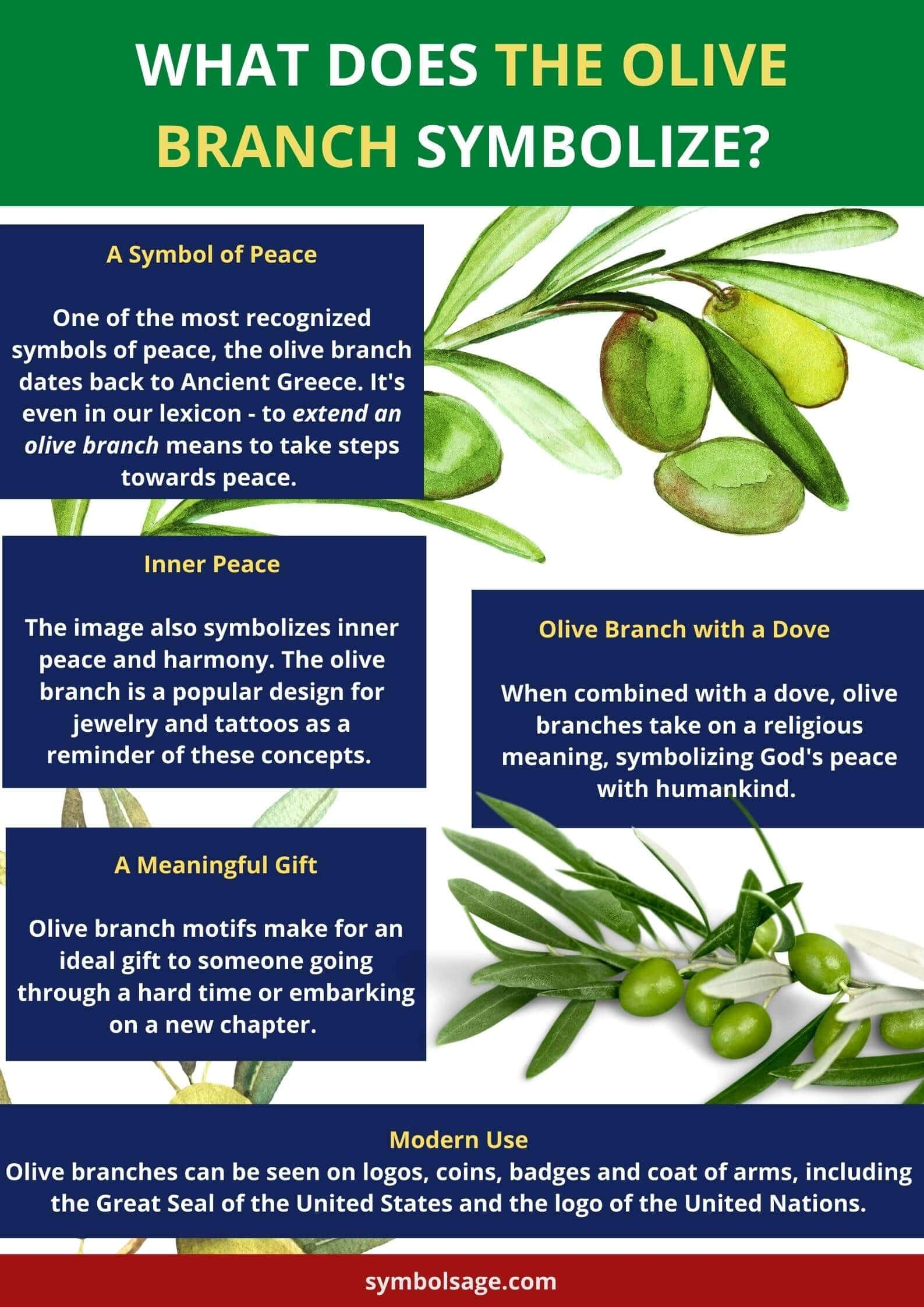 Olive branch origins and meaning