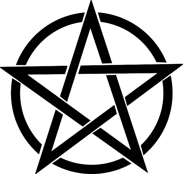 Pentacle symbol of protection