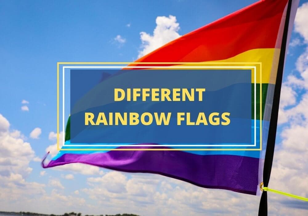 Rainbow flags and meanings