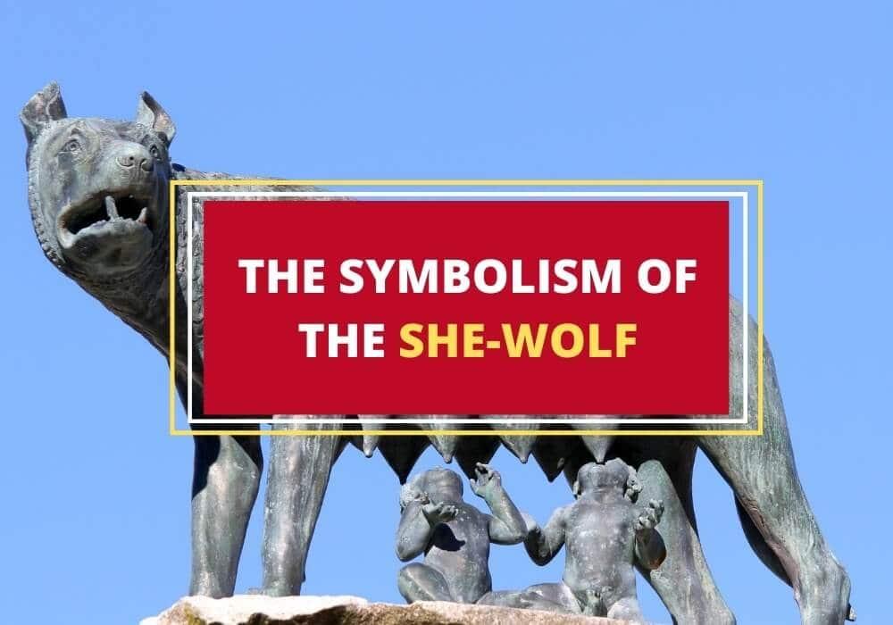 Roman she wolf symbol