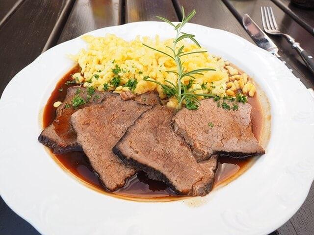 sauerbraten German food