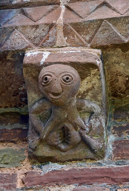 Sheela na gig Celtic symbol