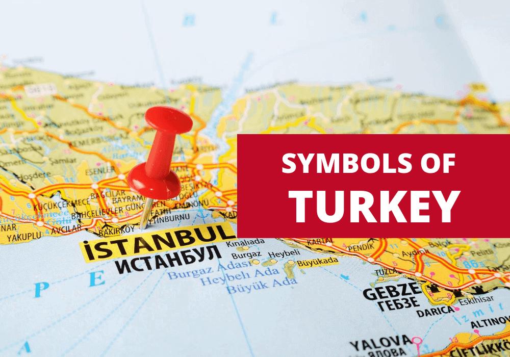 Turkey on map