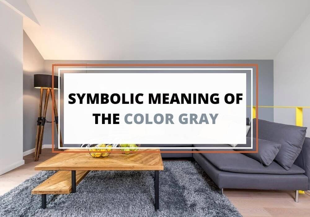 Symbolism of gray color