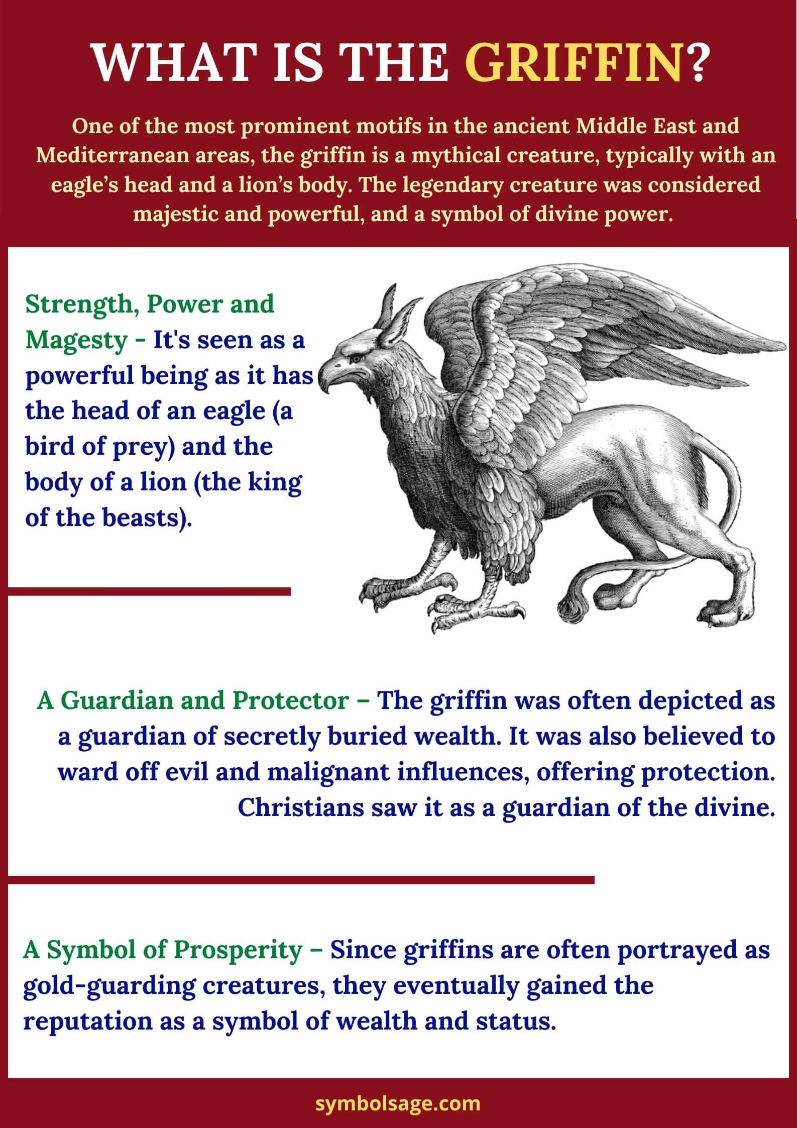 Symbolism of the griffin