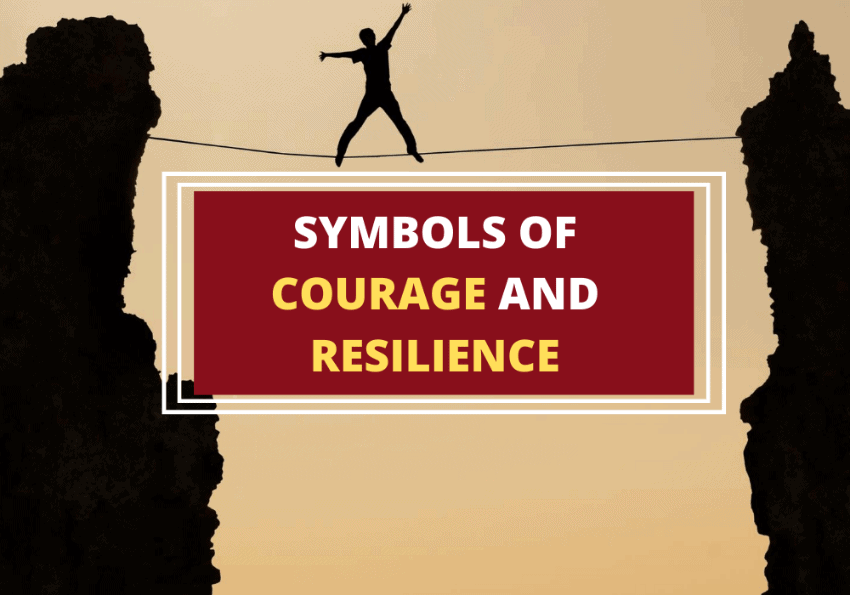 Symbols of courage and resilience
