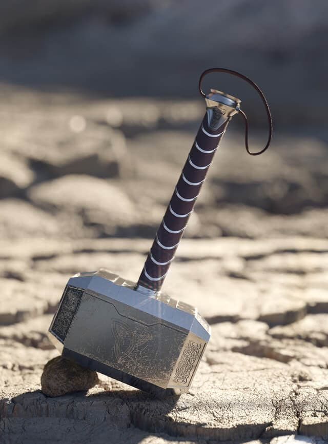 thors hammer is symbol of power