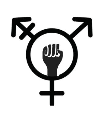 Transfeminist symbol