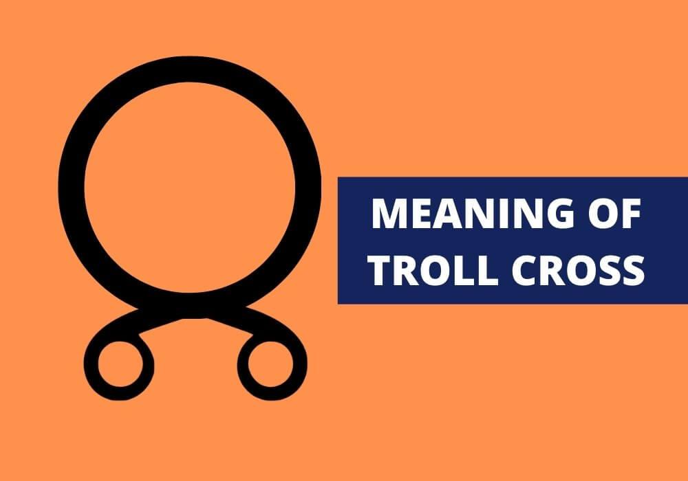 Troll cross symbol