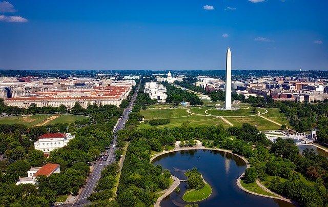 Washington monument obelisk