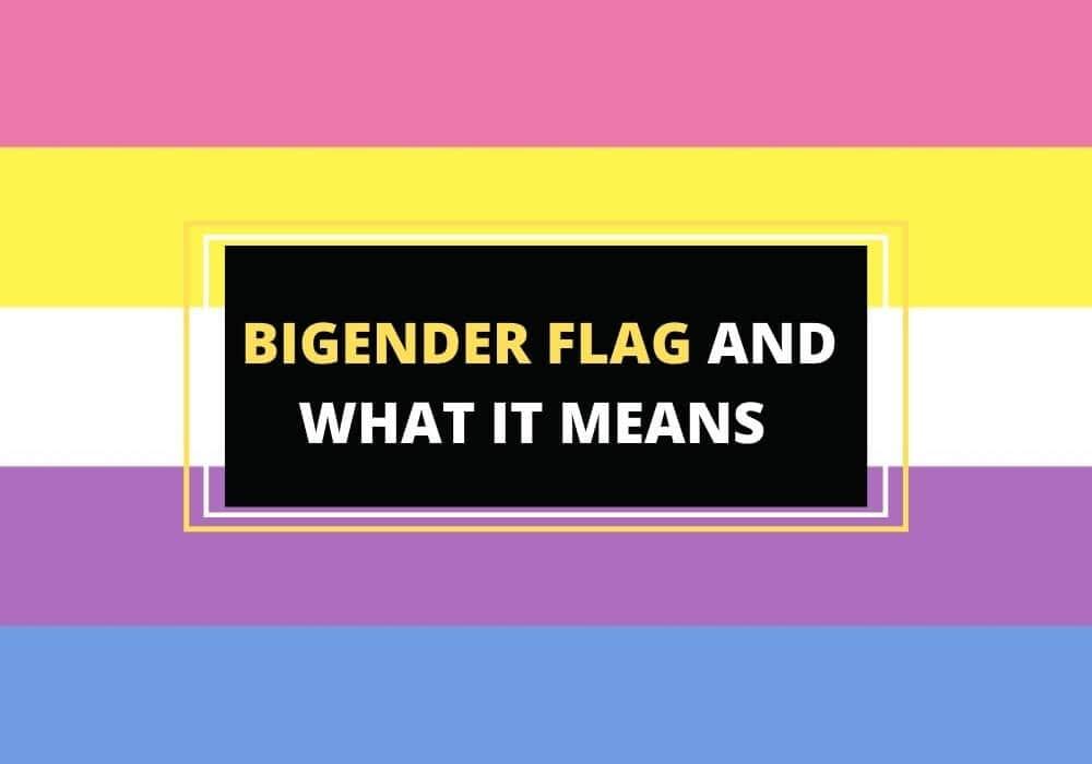What is the bi gender flag