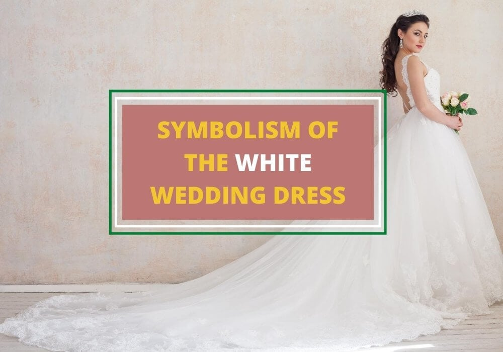 White wedding gown meaning