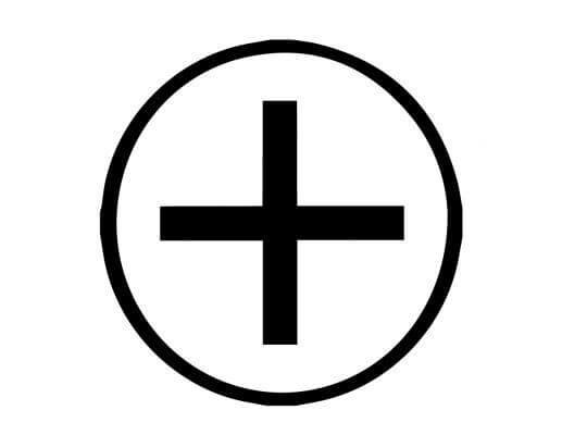 Ailm Celtic symbol