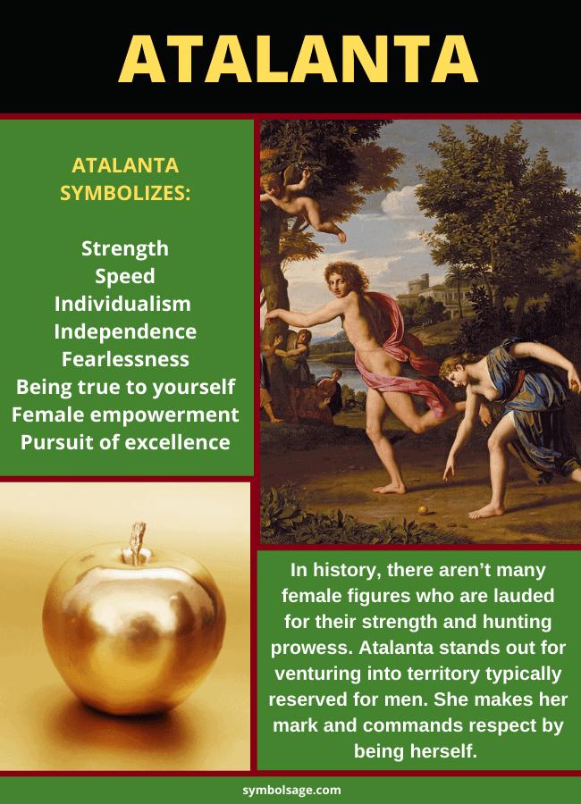 Atalanta Greek mythology symbolism