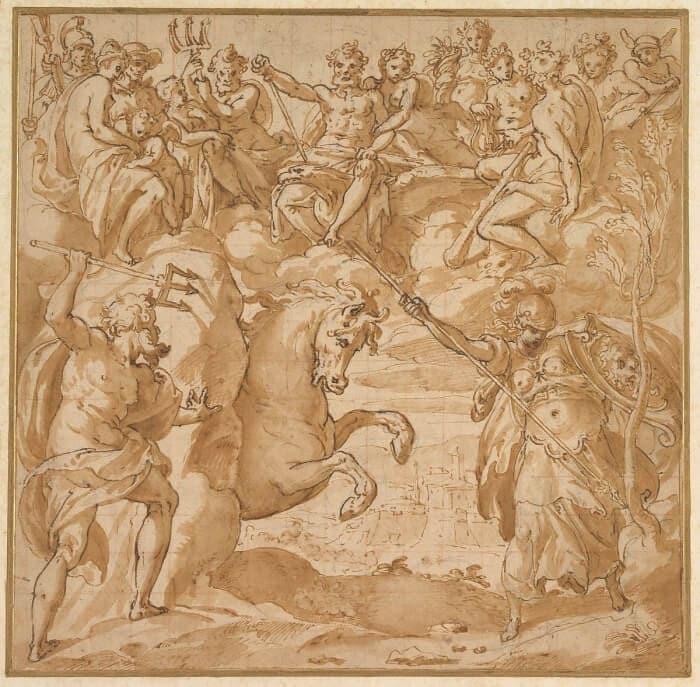Athena vs Poseidon