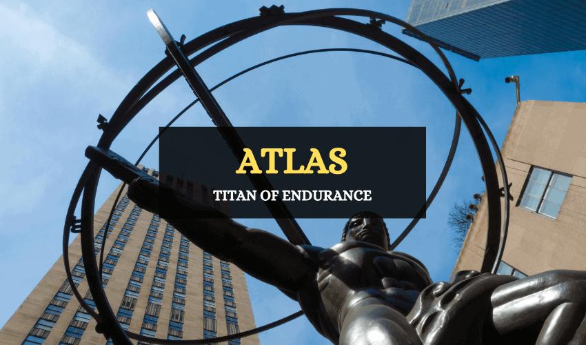 Atlas titan Greek mythology