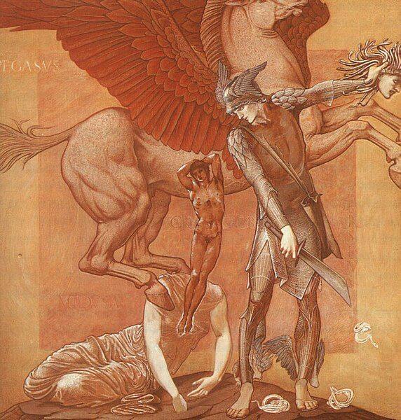 Birth of chrysaor