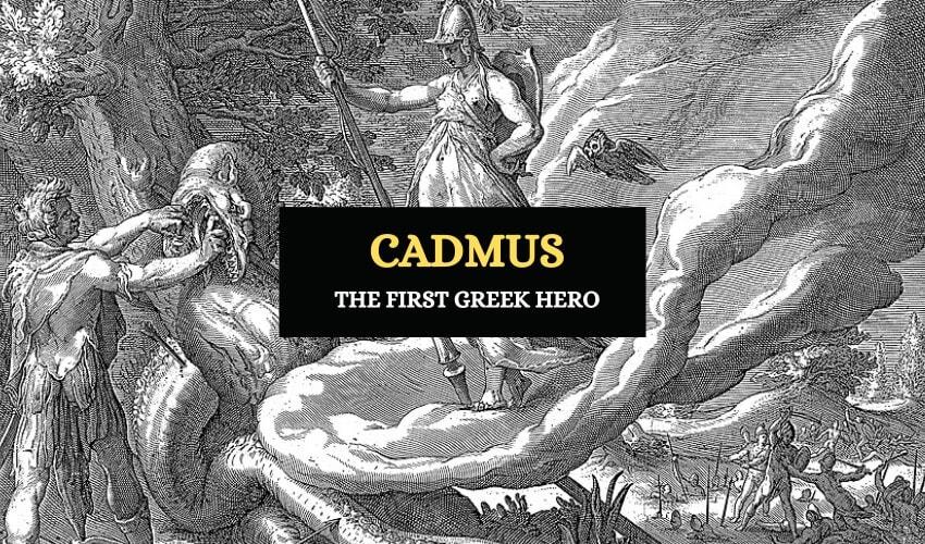 Cadmus Greek hero