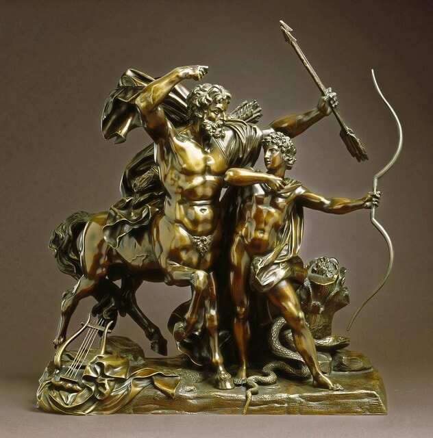 Chiron and Achilles