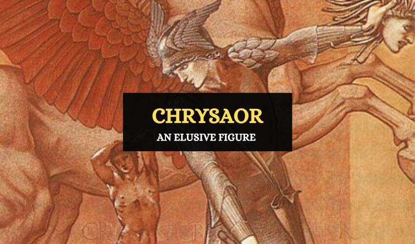 Chrysaor son of medusa