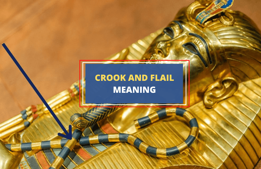 Crook and flail symbolism