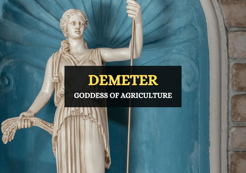 Demeter goddess agriculture