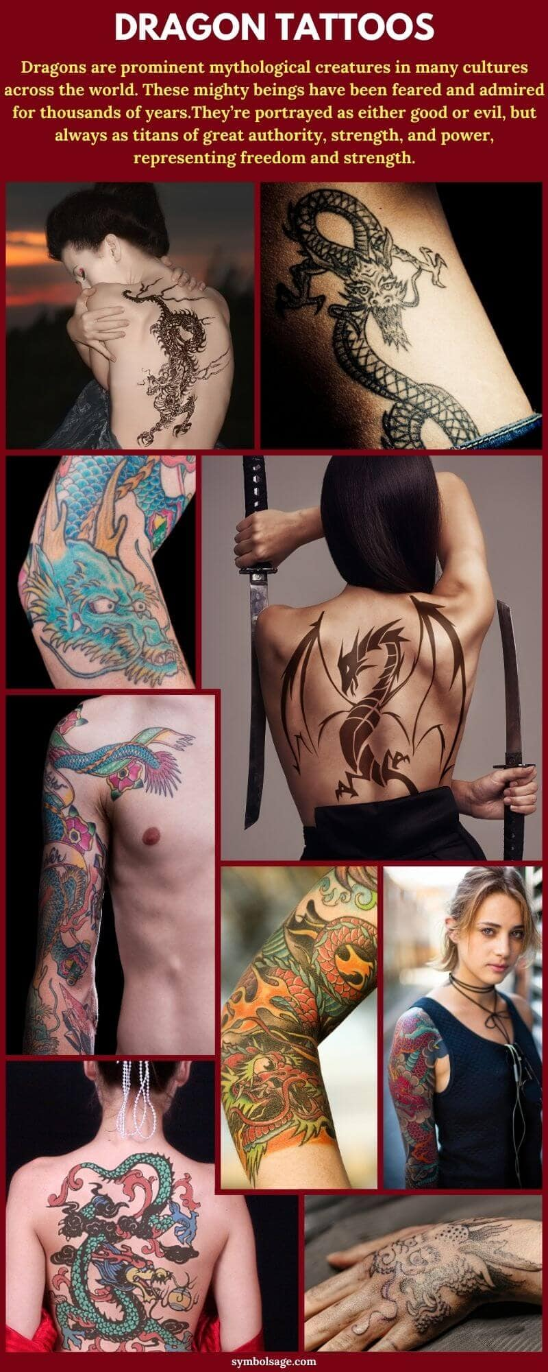 Dragon tattoo collection