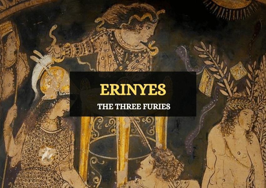 erinyes three Greek furies story