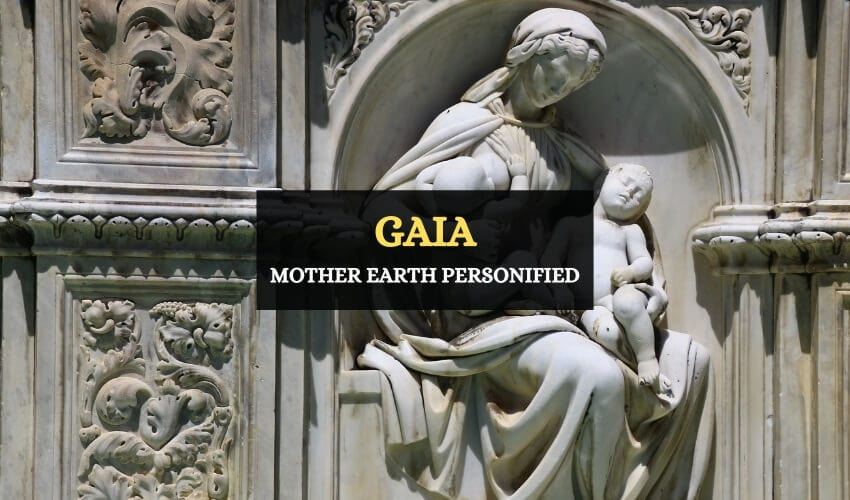 Gaia earth personification