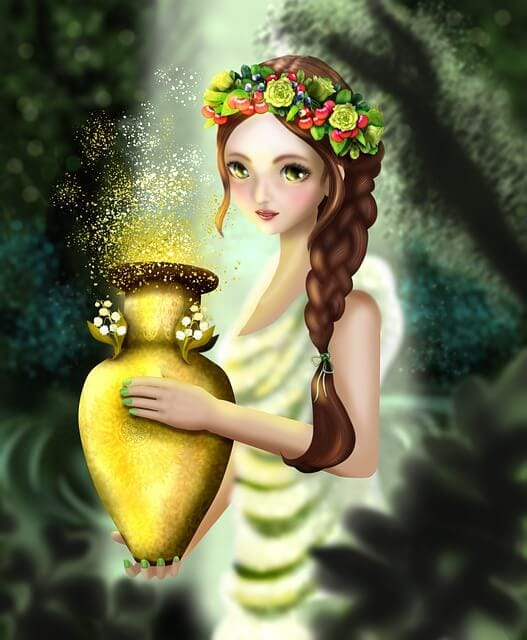 Hope inside Pandora's box