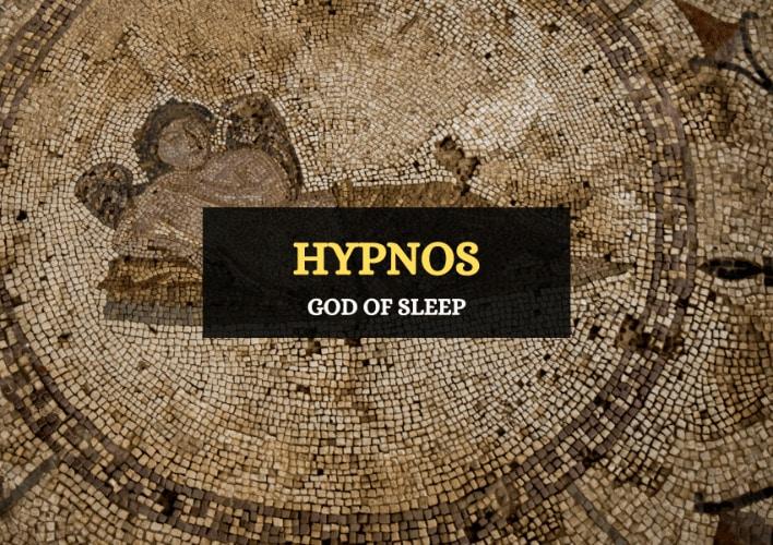 Hypnos god of sleep