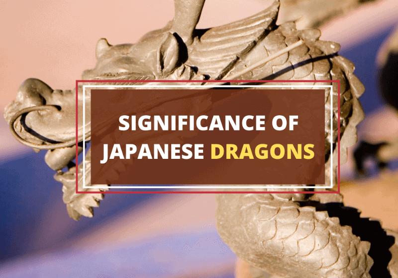 Japanese dragons symbolism