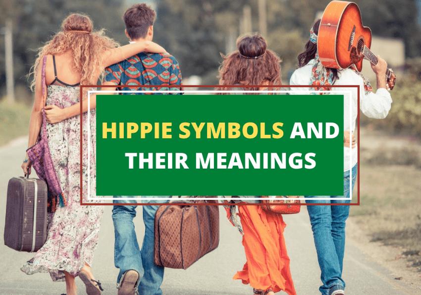 hippie couples walking