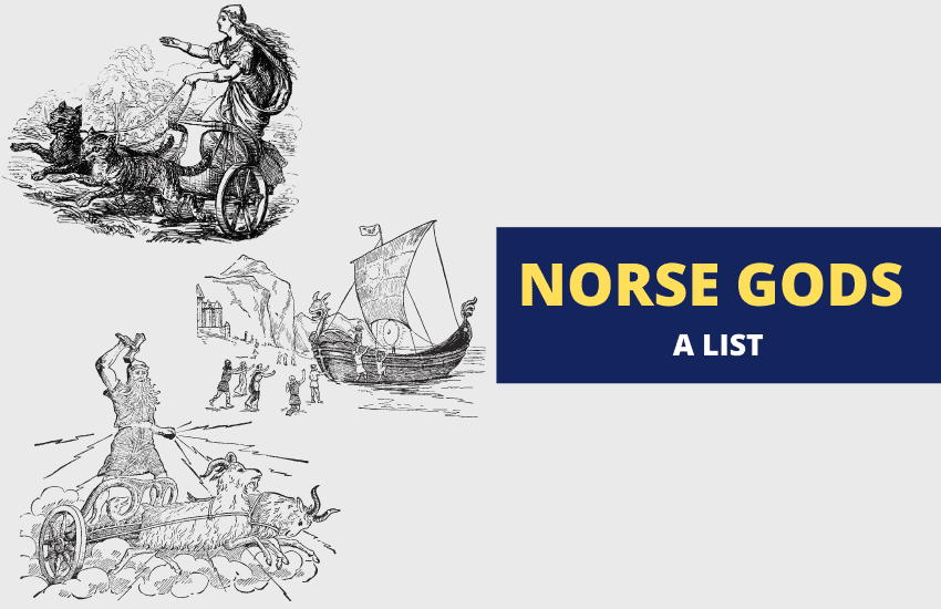 List of Norse gods