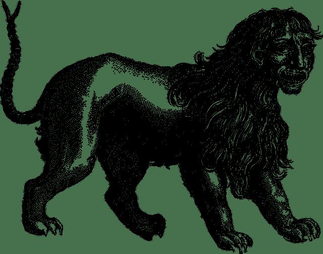Manticore symbolism