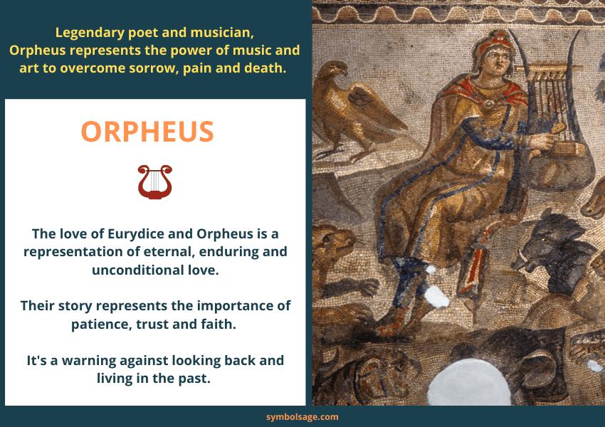 Orpheus Legendary Musician and Poet