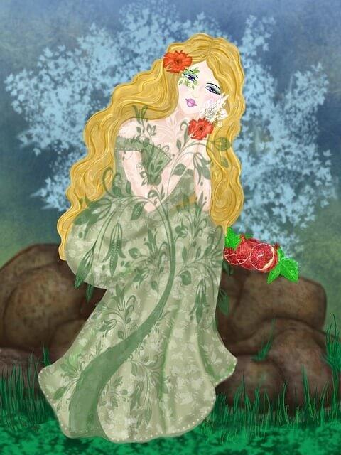 Persephone goddess of spring