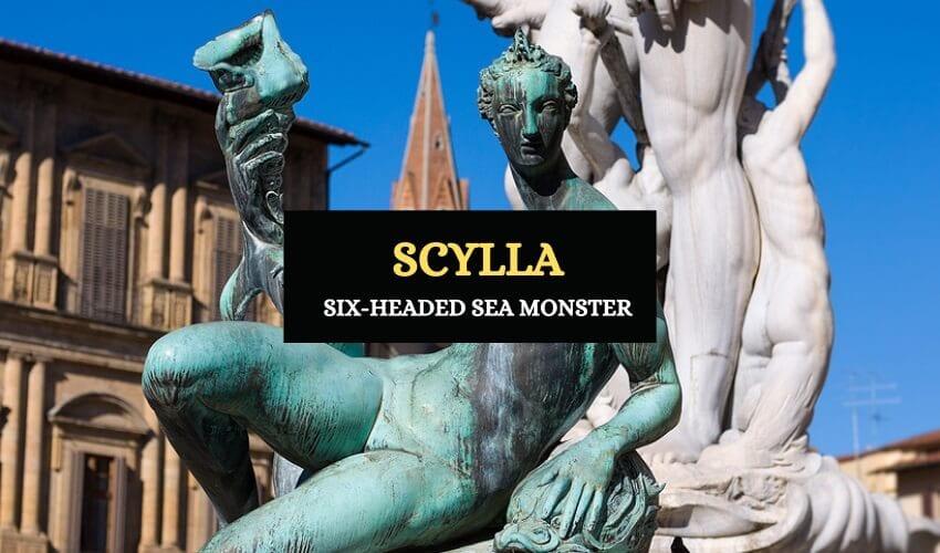 Scylla sea monster story
