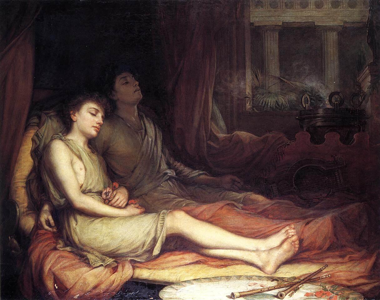Sleep and his half brother death