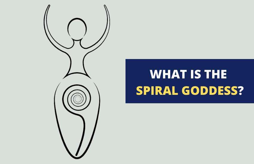 Spiral goddess symbolism