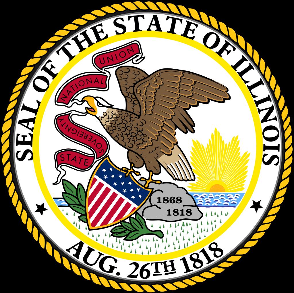 State seal Illinois