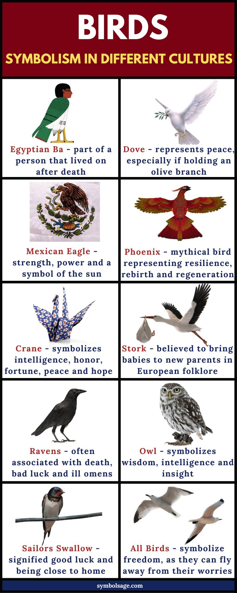 Symbolism of birds in different cultures