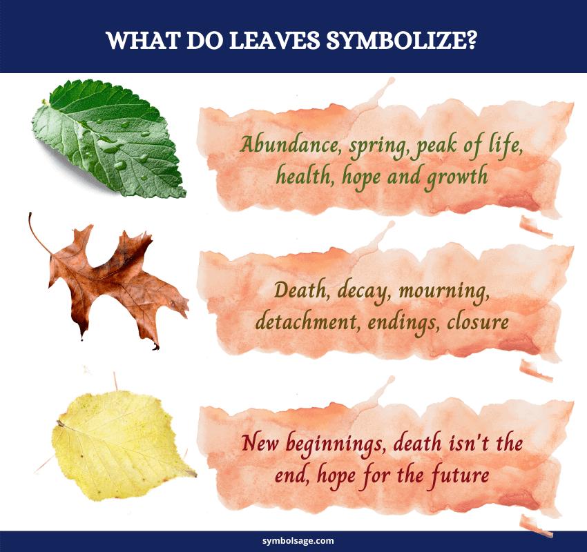 Symbolism of leaf colors