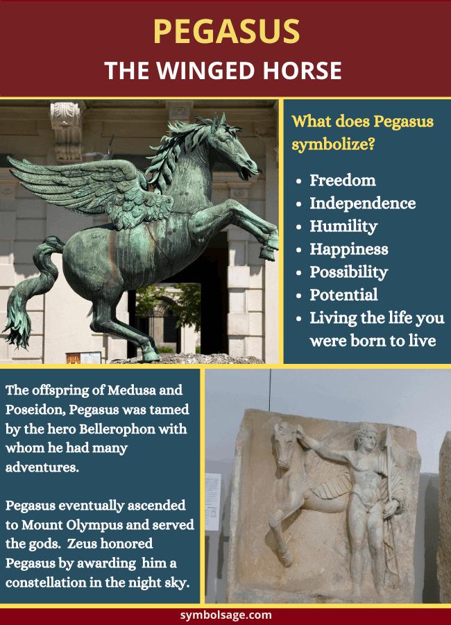 Symbolism of Greek Pegasus