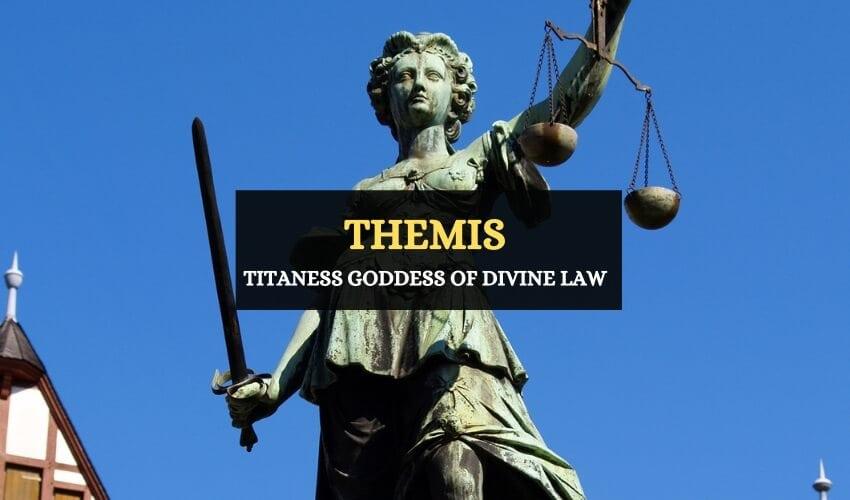 Themis goddess of justice