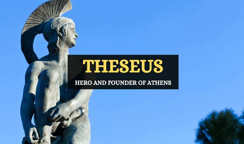 Theseus Greek mythology