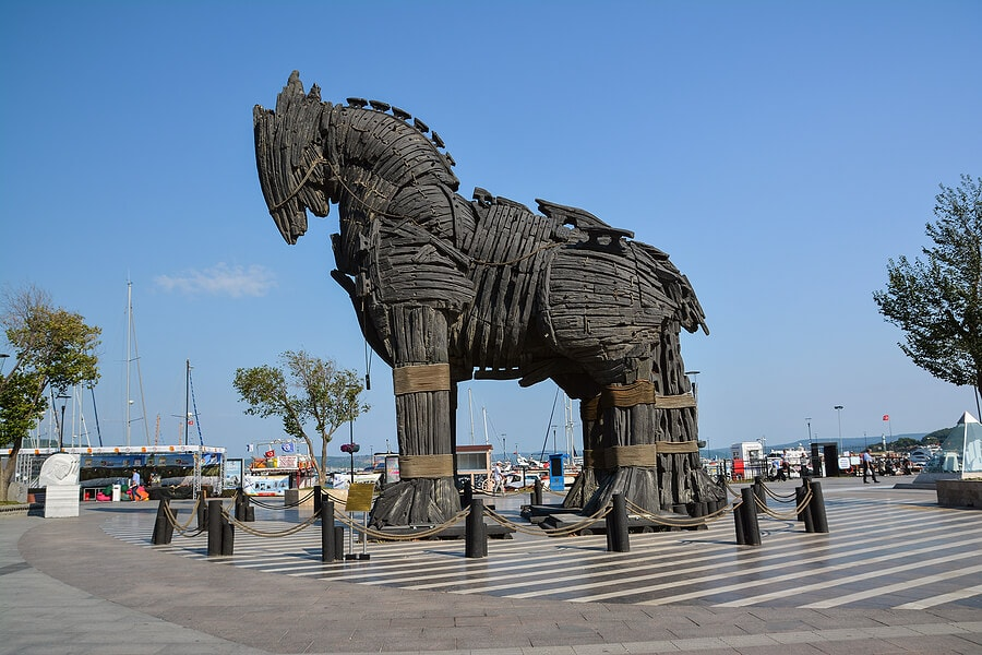 Trojan horse Diomedes