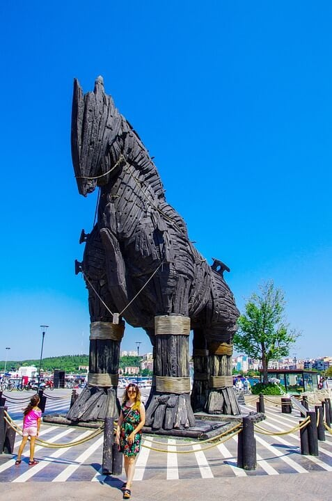 Trojan horse Greek myth